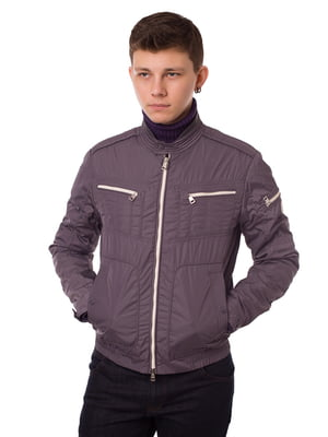 Куртка графитового цвета | 5365991