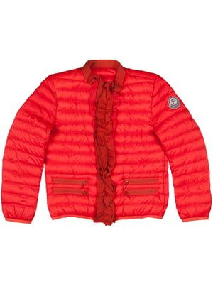 Куртка красно-оранжевого цвета | 5366014