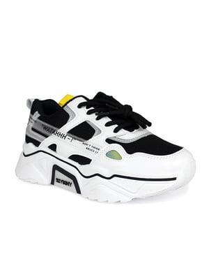 Кроссовки черно-белые | 5355026