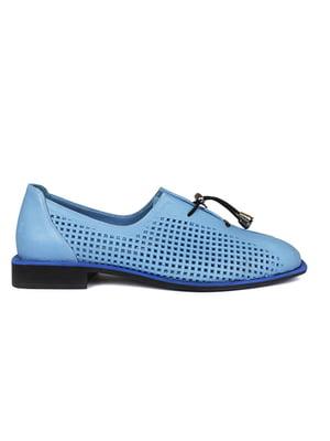 Туфли голубые | 5366685