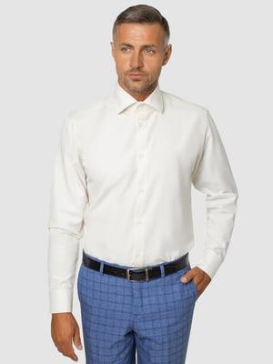 Рубашка цвета айвори | 5309693