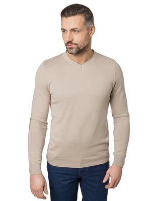 Пуловер бежевый | 5309762