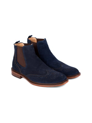 Ботинки синие | 5310137