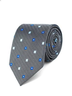 Краватка сіра з візерунком | 5310799
