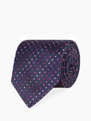 Краватка синя в ромби | 5366148