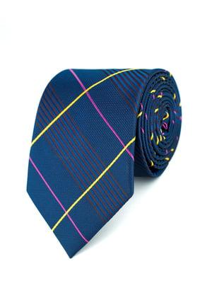 Краватка синя в клітинку | 5366158