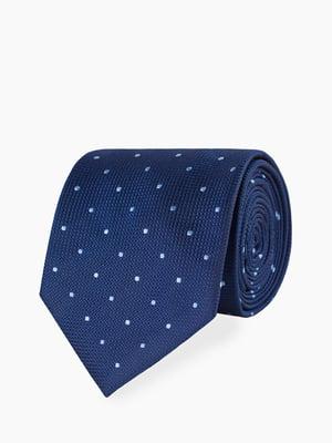 Краватка синя з візерунком | 5366177