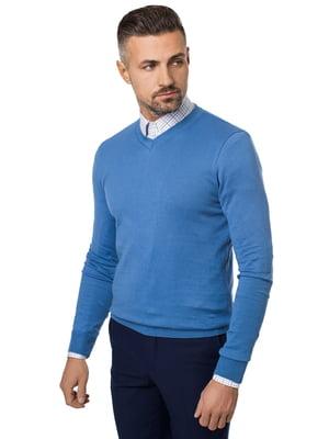 Пуловер синий | 5366213