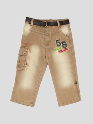 Штани коричневі | 5363591