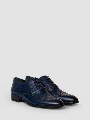 Туфлі темно-сині | 5365519