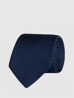 Галстук синий в крапинку | 5366100