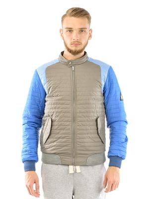 Куртка бежево-голубая | 5366185