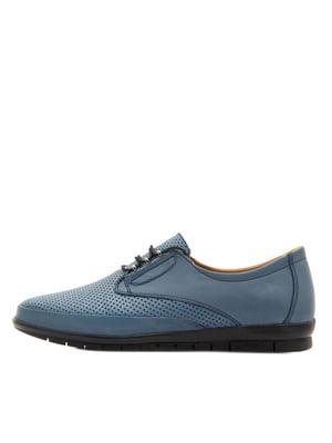 Туфлі синього кольору | 5366812