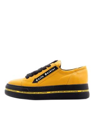 Кроссовки желтые | 5366832