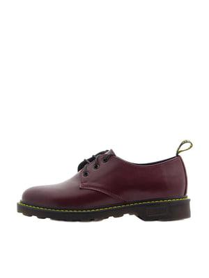 Туфлі бордового кольору | 5366834