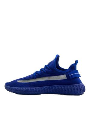 Кроссовки синего цвета | 5366911