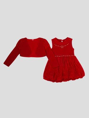 Комплект: сукня і болеро | 5363585