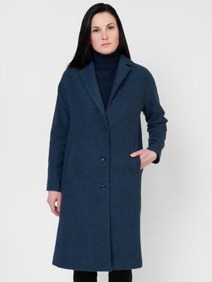 Пальто синее | 5365081