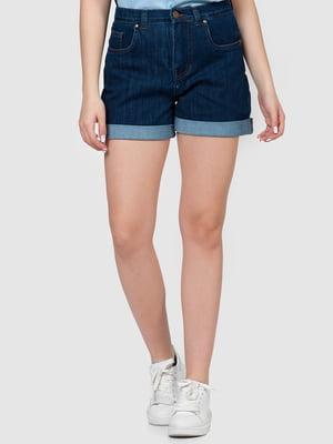 Шорты темно-синие джинсовые | 5365117