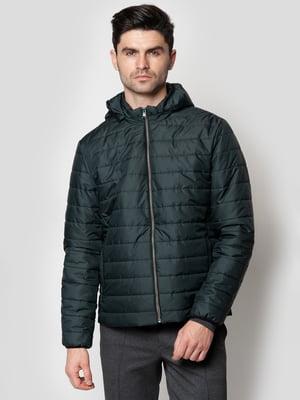 Куртка темно-зелена | 5365125