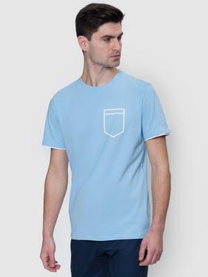 Футболка голубая | 5365226