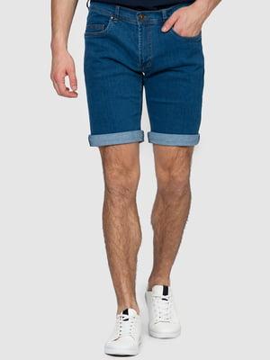 Шорты синие джинсовые | 5365240