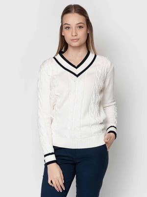 Пуловер белый | 5365271