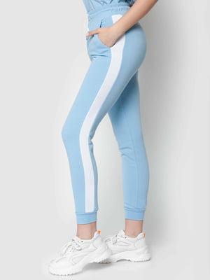 Штани блакитні спортивні | 5365299