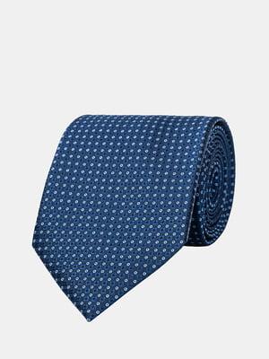 Краватка синя з візерунком | 5366172