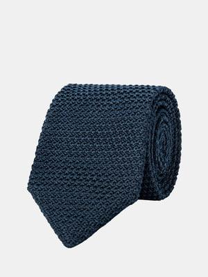Галстук темно-синий | 5366175