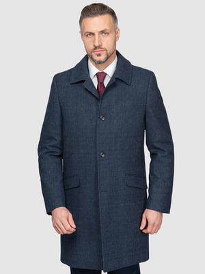 Пальто синє   5366195