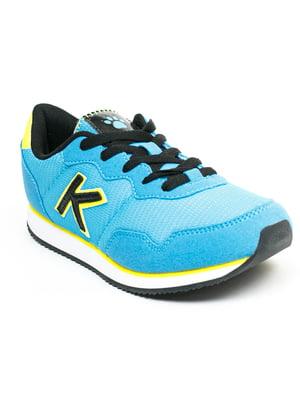 Кросівки блакитні | 5366342