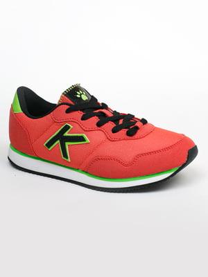 Кросівки коралового кольору | 5366343