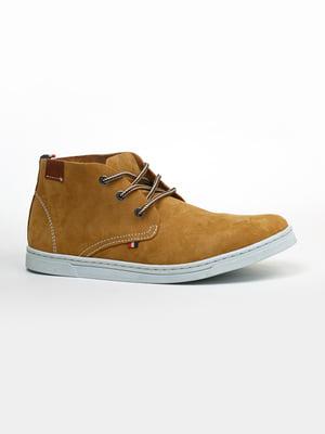 Ботинки цвета кэмел | 5366291