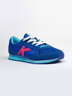 Кроссовки синие | 5366345