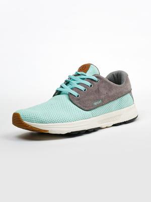 Кросівки сіро-м'ятного кольору | 5366341