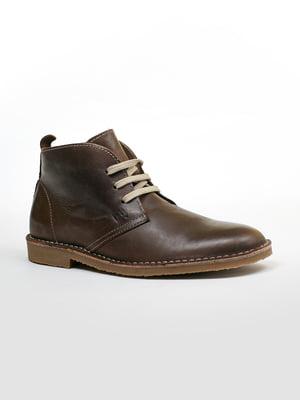 Ботинки коричневые | 5366292