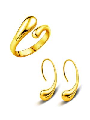 Набор: кольцо и серьги | 5367910