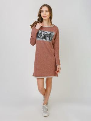Сукня теракотова | 5366325