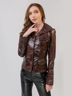 Жакет коричневый | 5366254