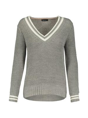 Пуловер серый | 5367438