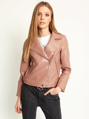 Куртка пудрового цвета | 5011283