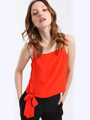 Блуза коралового кольору | 5011345