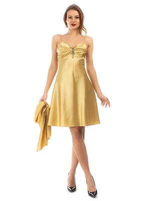 Сукня золотиста   5372456