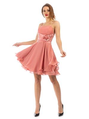 Сукня кольору пудри | 5372460