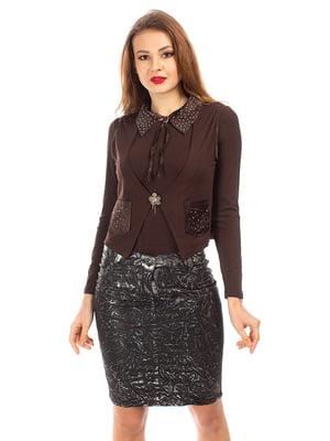 Комплект: жилет і блуза | 5372468