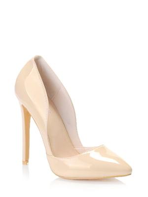 Туфлі бежеві | 5373057