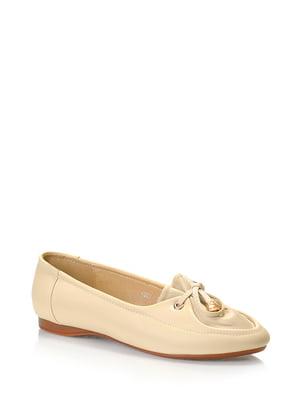 Туфлі бежеві | 5373064