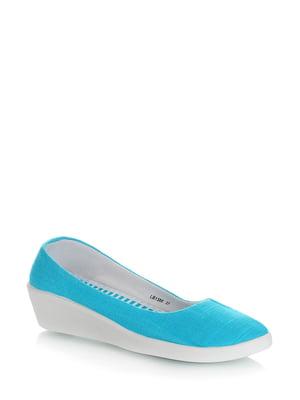 Туфлі блакитні | 5373107