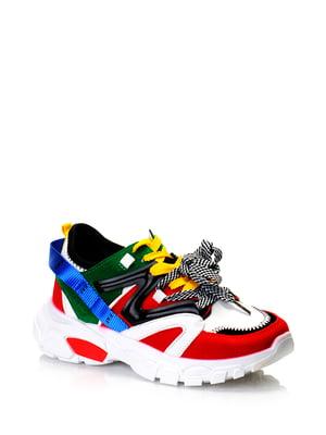Кроссовки разноцветные | 5373112